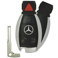 OEM Mercedes Benz Smart Prox Key Keyless Entry Remote Fob 4 Buttons Uncut Blade