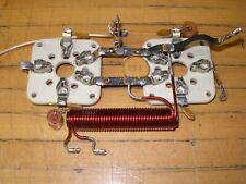 DRAKE L-4B PARTS: 3-500 tube sockets with filament choke