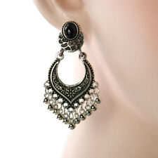 Stylish Gold/silver Women Plated Tassel Drop Dangle Earrings Jhumka Jewelry Hot Silver