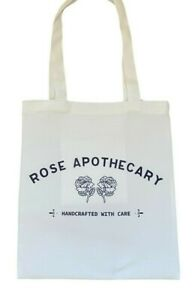 LAST ONE Rose Apothecary ~ Schitts Creek~ *Cream* tote bag shabby chic bag gift