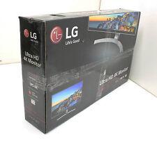 """GENTLY USED LG - 27"""" IPS LED 4K UHD FreeSync Monitor 27UD68 White"""
