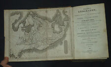 GLASGOW GEOGRAPHY: View of Empires, Kingdoms, & States, America, History / 1825
