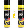 2 x Prestone Car De-Icer Windscreen Aerosol Spray Deicer Melts Ice Frost Snow