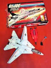 VINTAGE 1983 HASBRO GI JOE COMBAT JET SKYSTRIKER FOR PARTS IN BOX COBRA STILETTO