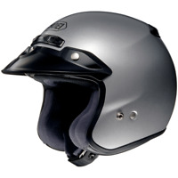 Shoei RJ Platinum-R Open Face Motorcycle Street Helmet