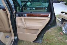 VW TOUAREG Passenger Side Rear Door Trim Panel 7L6 867 212CR NUW
