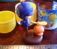 Furuta Choco Egg Super Mario Bros. Wii Blue Propeller Toad Mint in Egg US Dealer
