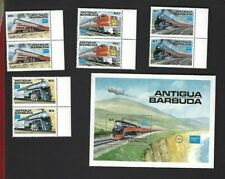 Antigua sc#934-7 x2 #938 Souvenir Sheet (1986) Complete MNH