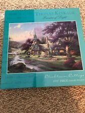 Thomas Kinkade 1000 Piece Clock Tower Cottage Puzzle