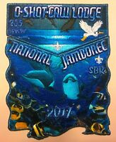 OA O-SHOT-CAW LODGE 265 SOUTH FLORIDA 2017 JAMBOREE 2-PATCH  BMY DELEGATE WYLAND