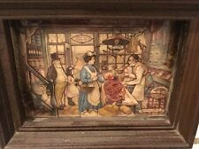 Anton Pieck 3D Framed Victorian Grocery Store Shadow Box