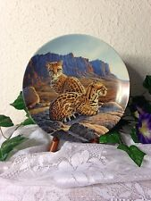 """Knowels 1990 Fourth Issue Great Cats Of The Americas """"The Ocelot"""" By Lee Cable"""