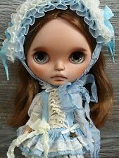 Silk Outfit and bonnet for OOAK Custom Takara Blythe