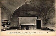 CPA  Azay-le-Rideau (I.-et-L.) - Cháteau National XVI s-La Cuisine    (298923)