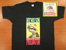 T-Rex Nicholson Predator saw blade vintage t-shirt XL black 80s 90s Cooper tools