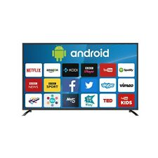 electriQ 65 Inch Android Smart 4K Ultra HD LED TV WiFi Freeview HD 3 HDMI