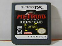 Metroid Prime Hunters - Nintendo DS - Cart Only - Free Shipping! First Hunt!