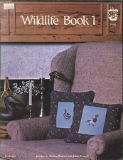 Wildlife Cross Stitch Pattern Book 1 Bowers Powers Mallard Canada Goose Redhead