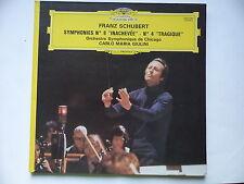 SCUBERT Symphonies 8 / 4 Orch Chicago CARLO MARIA GIULINI 2531047