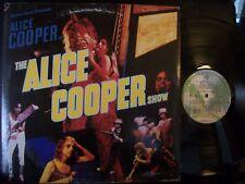 ALICE COOPER The Alice Cooper Show LP 1977 Warner Bros w/insert
