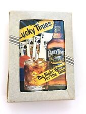 Early Times Lucky Times Playing Cards 1999 Collectible Sealed cards in open box