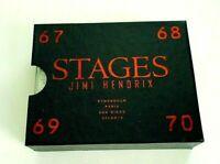 Jimi Hendrix STAGES Set of 4 Cassettes 67,68,69, 70 Original Box