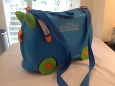 Trunki Terrance Ride on Hand Luggage Pull Along Suitcase for Children / Kids