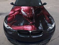 Vinyl Car Hood Full Color Graphics Decal Carnage The Amazing Spider-Man Sticker