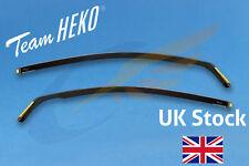 VOLVO C30 3-doors Hatchback 2007-2012 2-pc Wind Deflectors HEKO Tinted