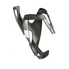 Elite VICO Carbon Fiber Water Bottle Cage : Matte Black/White - Made in Italy!