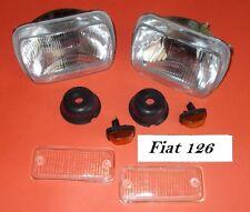 Kit fanaleria anteriore Fiat 126 - KIT114