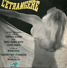 ROMUALD L'Étrangère EP 1967 BOF OST Pop Organ Jerk