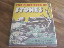 "VINTGE ""THE FIRST BOOK OFSTONES"" 1950 BY M.B.CORMACK"