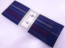 BNWT MEN'S JAPANESE BLUE/RED/WHITE KENJO KAKU OBI FOR YUKATA/MARTIAL ARTS GIFT?