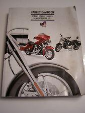 HARLEY-DAVIDSON catalogue pieces et accéssoires GENUINE MOTOR 2012