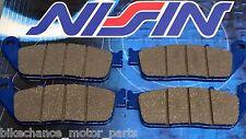 4 pastiglie anteriori NISSIN Triumph Tiger 800 800xc xc xr xcx xrx