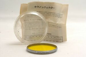 @ Ship in 24 Hours! @ Rare & Excellent! @ Canon Y3 2x 55mm Screw-In Lens Filter