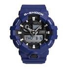 New Casio G-SHOCK GA-700-2A Quartz Analog Digital Resin Casual Men's Watch -Blue