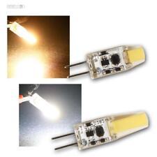 G4 LED Mini Stecksockellampe Birne Silicia COB 12V 110/200lm Leuchtmittel Lampe