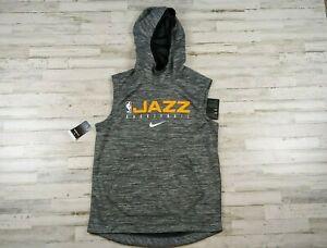 Utah Jazz Nike Sweatshirt Mens Sleeveless Sweatshirt Size Mens XLT X-Large tall
