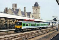 PHOTO  CLASS 150 UNIT NO 150 104 AT LINCOLN CENTRAL  RAILWAY STATION REGIONAL RL