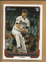 Dallas Keuchel RC 2012 Bowman Draft Rookie Card Houston Astros Braves Baseball