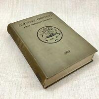 1929 Antico Libro Antico Pittura Art Storia Illustrato Yale University Press