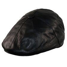 Ballonmütze Herren Baskenmütze Schlägermütze Flatcap Leder Schiebermütze Cap SXL