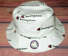MENS CHAMPION WHITE BUCKET HAT SIZE L/XL