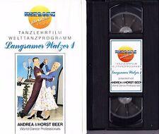 VHS Tanzlehrfilm Welttanzprogramm - Langsamer Walzer 1 - Tanzen lernen