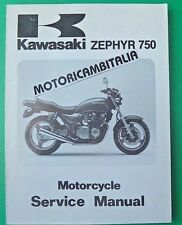KAWASAKI ZEPHYR 750 ZR750 C1 MANUALE OFFICINA  MANUAL SHOP SERVICE REPAIR BOOK