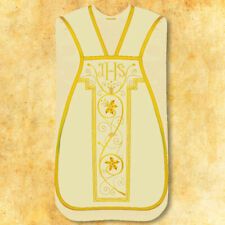 """Roman embroidered chasuble """"Agape"""""""