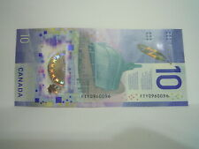 """CANADA """"VIOLA DESMOND"""" $10 POLYMER REPEATER!!!! ( FTY0960096)"""