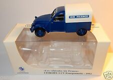RARE NOREV CITROEN 2CV FOURGONNETTE 1952 AIR FRANCE 1/43 IN BOX